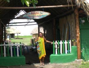 Bienvenidos Rancho Tranquilo Jiquilillo Nicaragua