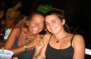 Our hostel in Nicaragua with loads of fun every night