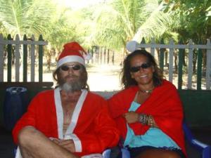 Santa and Sun Tina